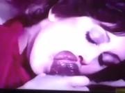 Sesso orale vintage con una pompinara affamata
