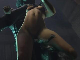 Compilazione di scene hard con zoccole hentai fottute da cazzi giganteschi