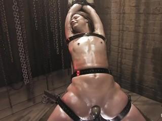 Video bondage con strumenti sessuali