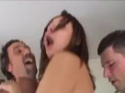 Video hard di sesso a tre con doppie penetrazioni